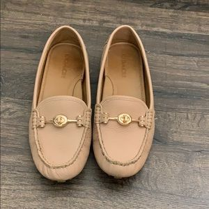 Coach Arlene loafer size 8.5 nude color